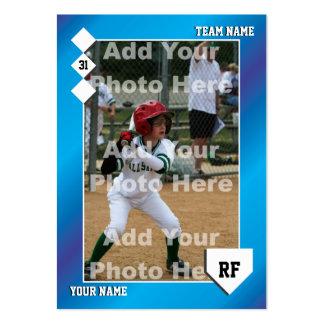 Carte de base-ball faite sur commande cartes de visite personnelles