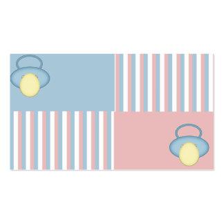 Carte de bébé carte de visite