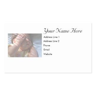Carte de bébé modèles de cartes de visite