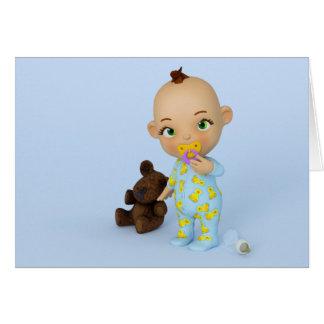 Carte de bébé de Toon