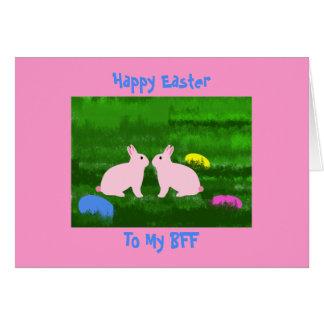 Carte de BFF Pâques