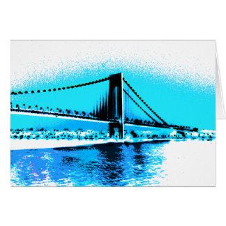 Carte de bleus de pont