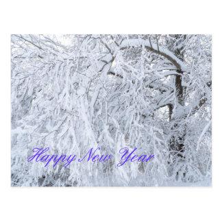 Carte de bonne année cartes postales