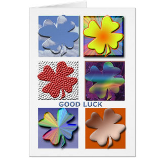 Carte de bonne chance