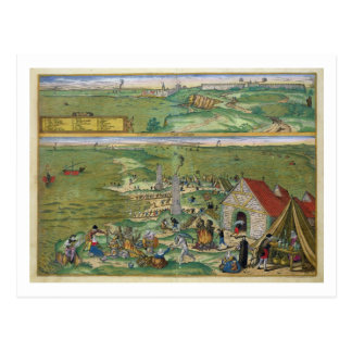 "Carte de Cadix, de ""Civitates Orbis Terrarum"" par"