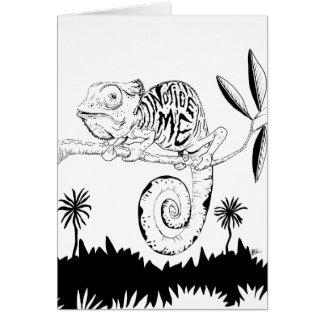 Carte de caméléon