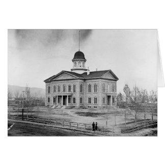 Carte de capitol d'état du Nevada