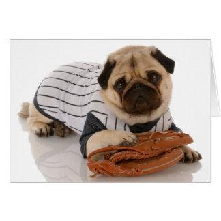Carte de carlin de base-ball