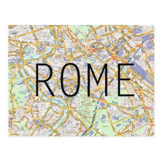 Carte de carte de Rome