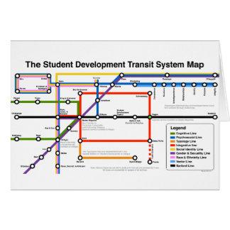 Carte de carte de système de transport de