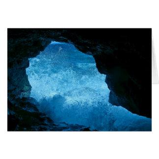 Carte de caverne de batte