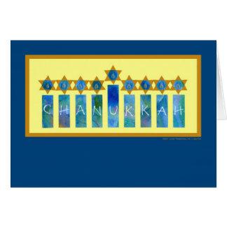 Carte de Chanukkah