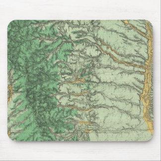 Carte de classification de terre du Nouveau Mexiqu Tapis De Souris