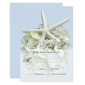 Carte de clôture de réponse de menu de mariage de carton d'invitation 8,89 cm x 12,70 cm