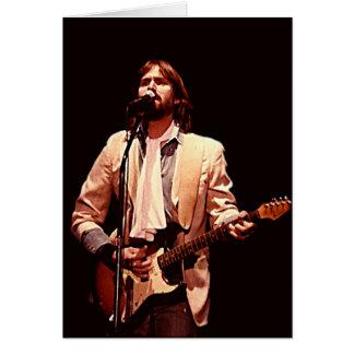 Carte de concert de Dan Fogelberg 1984