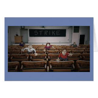 """Carte de Congrats - """"vous avez survécu à la grève"""