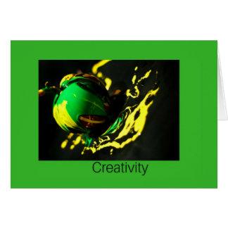 Carte de créativité