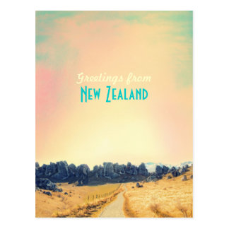 Carte de cru de la Nouvelle Zélande
