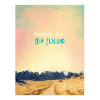 Carte de cru de la Nouvelle Zélande Carte Postale