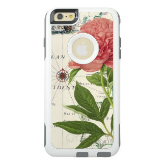 Carte de cru de pivoine coque OtterBox iPhone 6 et 6s plus