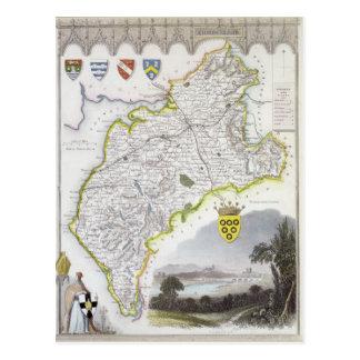Carte de Cumberland, du 'anglais de Moule
