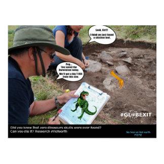 CARTE de DINO de #GLOBEXIT (collection plate de la