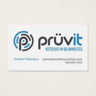 Carte de distributeur de Pruvit