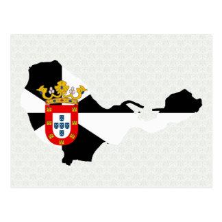 Carte de drapeau de Ceuta normale