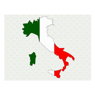 Carte de drapeau de l Italie normale Cartes Postales