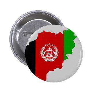 Carte de drapeau de l'Afghanistan Badge