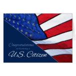 Carte de drapeau des USA de citoyenneté des USA de