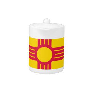 Carte de drapeau du Nouveau Mexique