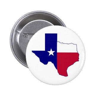 Carte de drapeau du Texas Badges