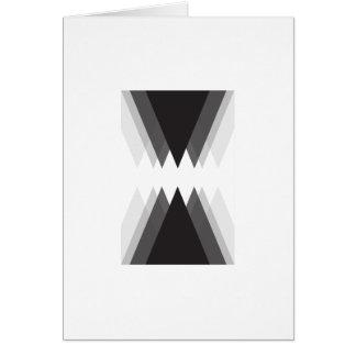 """Carte """"de effacement"""" d'art moderne (5"""" x 7"""")"""