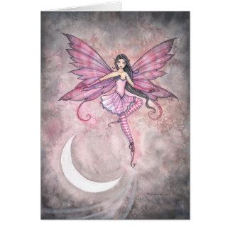 Carte de fée de la danse de Luna