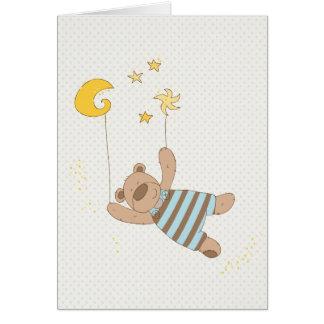 carte de félicitations de bébé