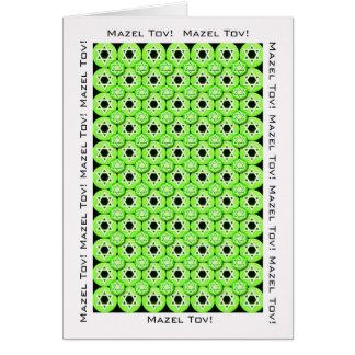 Carte de félicitations de Mazel Tov