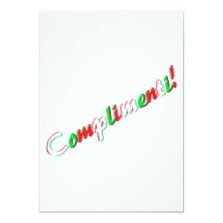 Carte de félicitations bristol personnalisé