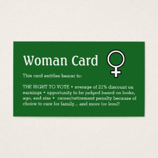 """Carte de femme, affaires, 3,5"""" x 2,0"""", 100 paquets"""