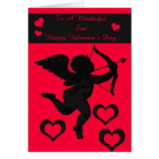 Carte de fils de Valentine