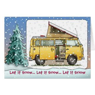 Carte de fin de année de Campmobile Van Camper