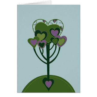 Carte de flèche de Valentine