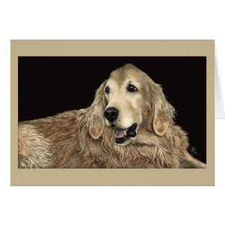 Dessin chien golden retriever cartes invitations photocartes et faire part dessin chien golden - Dessin golden retriever ...