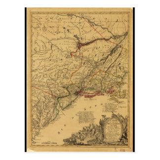 Carte de guerre de révolutionnaire américain par