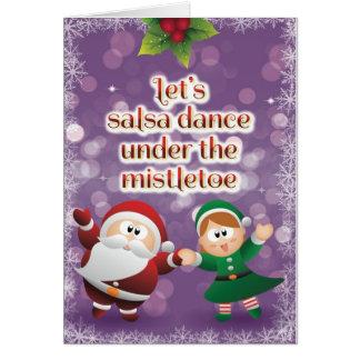 Carte de gui de Salsa de Noël