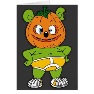 Carte de Gummibär Jack-o'-lantern Halloween