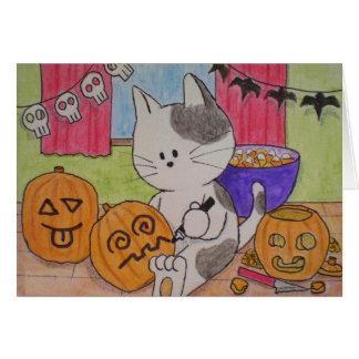 "Carte de Halloween ""raccourcie """