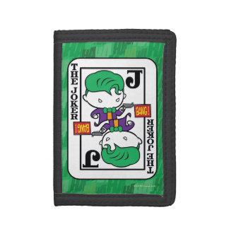 Carte de jeu de joker de Chibi