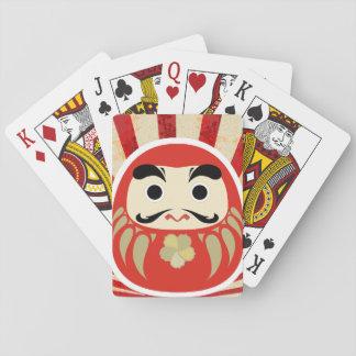 carte de jeu du 七転び八起き DARUMA Jeu De Cartes