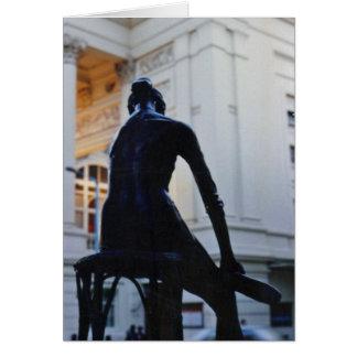 """Carte de """"jeune danseur"""" de jardin de Covent"""
